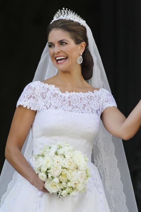 Las joyas más deslumbrantes en la Boda Real de Magdalena de Suecia