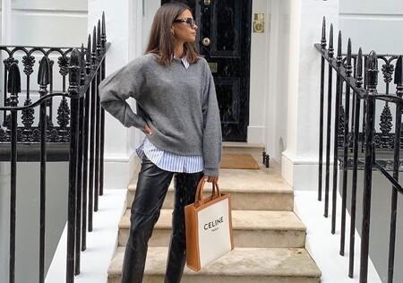 El street style nos inspira para lucir nuestros pantalones de cuero de 12 formas diferentes y no separarnos de ellos jamás