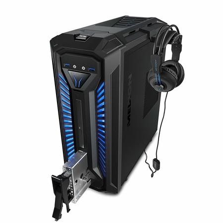 Este MEDION X30 RGB es probablemente el mejor ordenador de sobremesa que puedes comprar por menos de 500 euros en Amazon