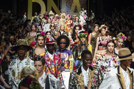 El último día de MFW SS19 ha sido de contrastes: del barroco de Dolce&Gabbana al athleisure de Fila