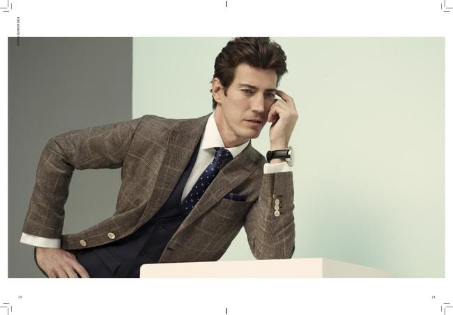 Pedro del Hierro ofrece elegancia cosmopolita para la primavera en su nueva colección