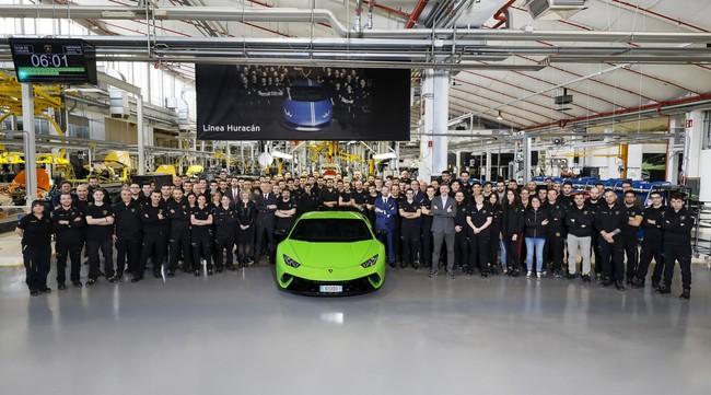 Lamborghini produjo la unidad 10 mil del Huracán mientras comienza a pensar en un sucesor