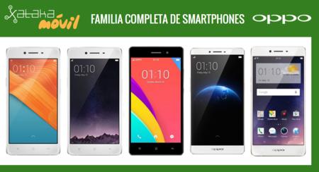 Así queda el catálogo completo de smartphones Oppo tras la llegada del Oppo F1