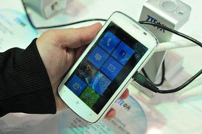 ZTE podría lanzar un Windows Phone para el 2014