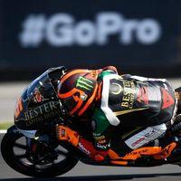 Andrea Migno es el piloto más rápido en Aragón mientras que Arón Canet se mete en más líos