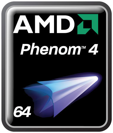 AMD Phenom 4 logo