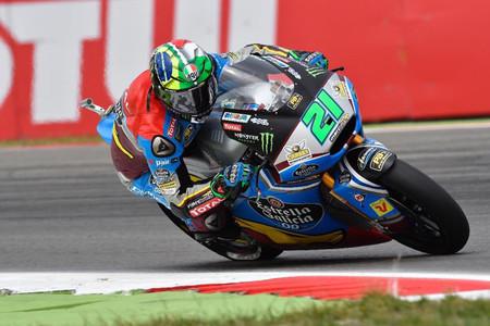 Franco Morbidelli se lleva la pole en Moto2 y confirma sus buenas sensaciones del fin de semana