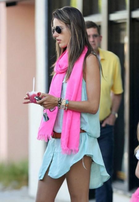 La magia del estilismo: mami Alessandra Ambrossio y su hija ¡ideales!