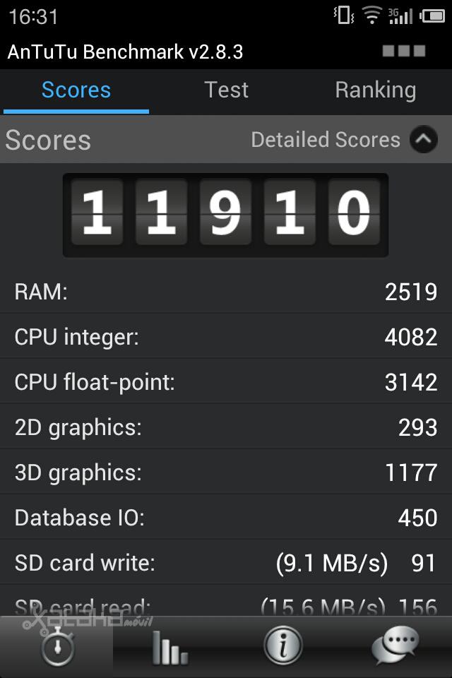 Foto de Benchmark Meizu MX 4-core (1/5)