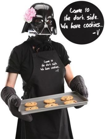 El delantal de Darth Vader