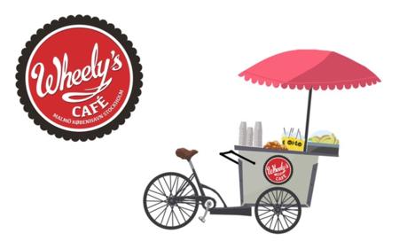 Wheely's Café, la cafetería más pequeña del mundo... ¡y la más ecológica!