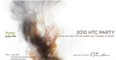 HTC tiene algo que presentarnos el 7 de octubre, ¿Windows Phone 7?