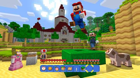 Super Mario también estará en Minecraft: Wii U Edition gracias a una actualización gratuita