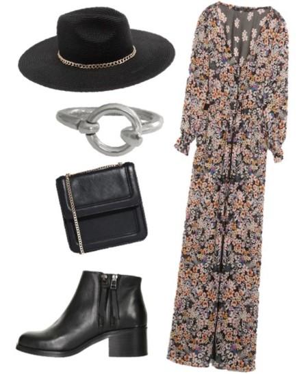 look festival maxi vestido