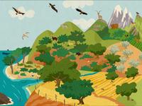 Animal Habitats es una aplicación para iPad que permite a los niños conocer y respectar la fauna mundial