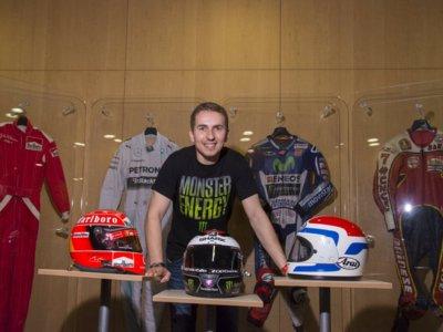 Jorge Lorenzo prepara en Andorra un museo sobre Fórmula 1 y MotoGP