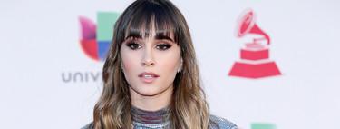 Aitana elige en los Grammy Latinos 2018 el perfecto vestido para las fiestas navideñas