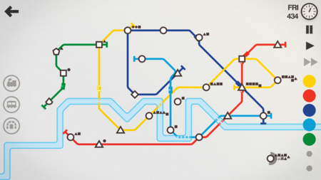 Analizamos Mini Metro, el premiado simulador de transporte público para iPhone