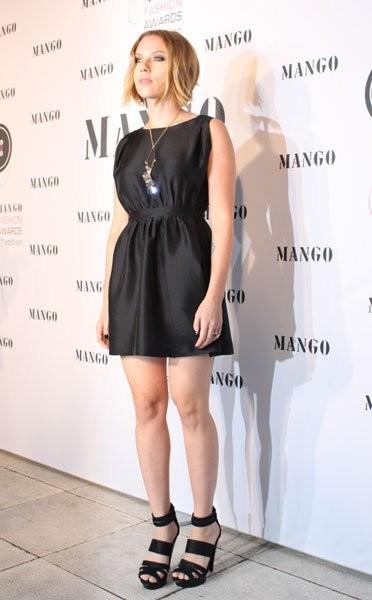 Scarlett Johansson en los Premios Botón-Mango Fashion 2010