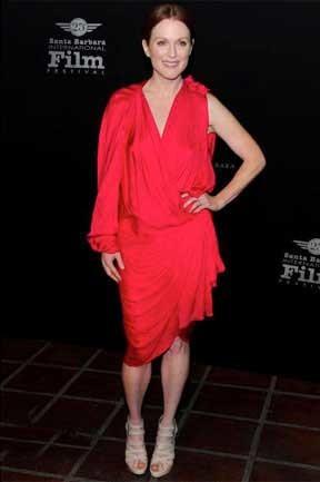 Julianne Moore en el Festival de Cine de Santa Bárbara
