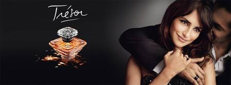 Penélope Cruz, el Trésor de Lancôme, repite como imagen del perfume