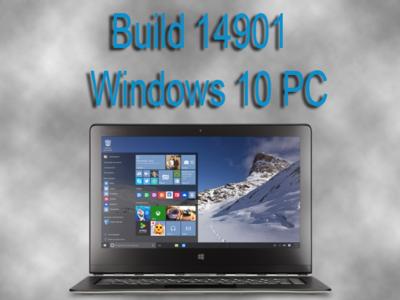 Microsoft libera la Build 14901 Redstone 2 para Windows 10 PC dentro del anillo rápido