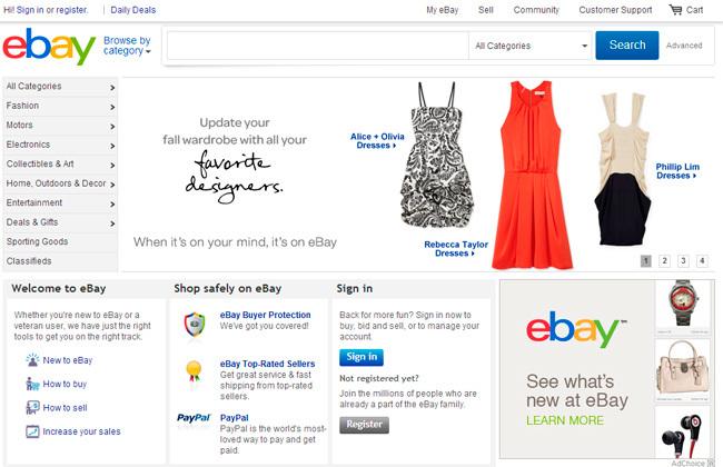 Ebay nuevo diseño