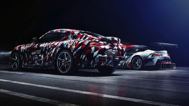 El Toyota Supra tira de hype y nos enseña el culo antes de su puesta de largo este fin de semana