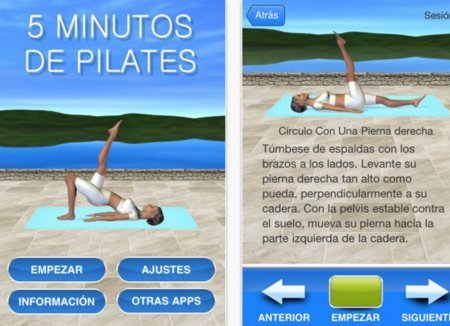 Cinco aplicaciones de pilates para tu iPhone