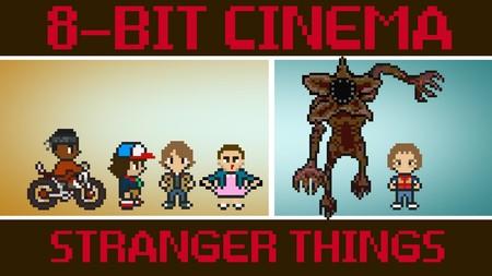 Stranger Things y otras 13 películas transformadas en gloriosos videojuegos de 8-bits