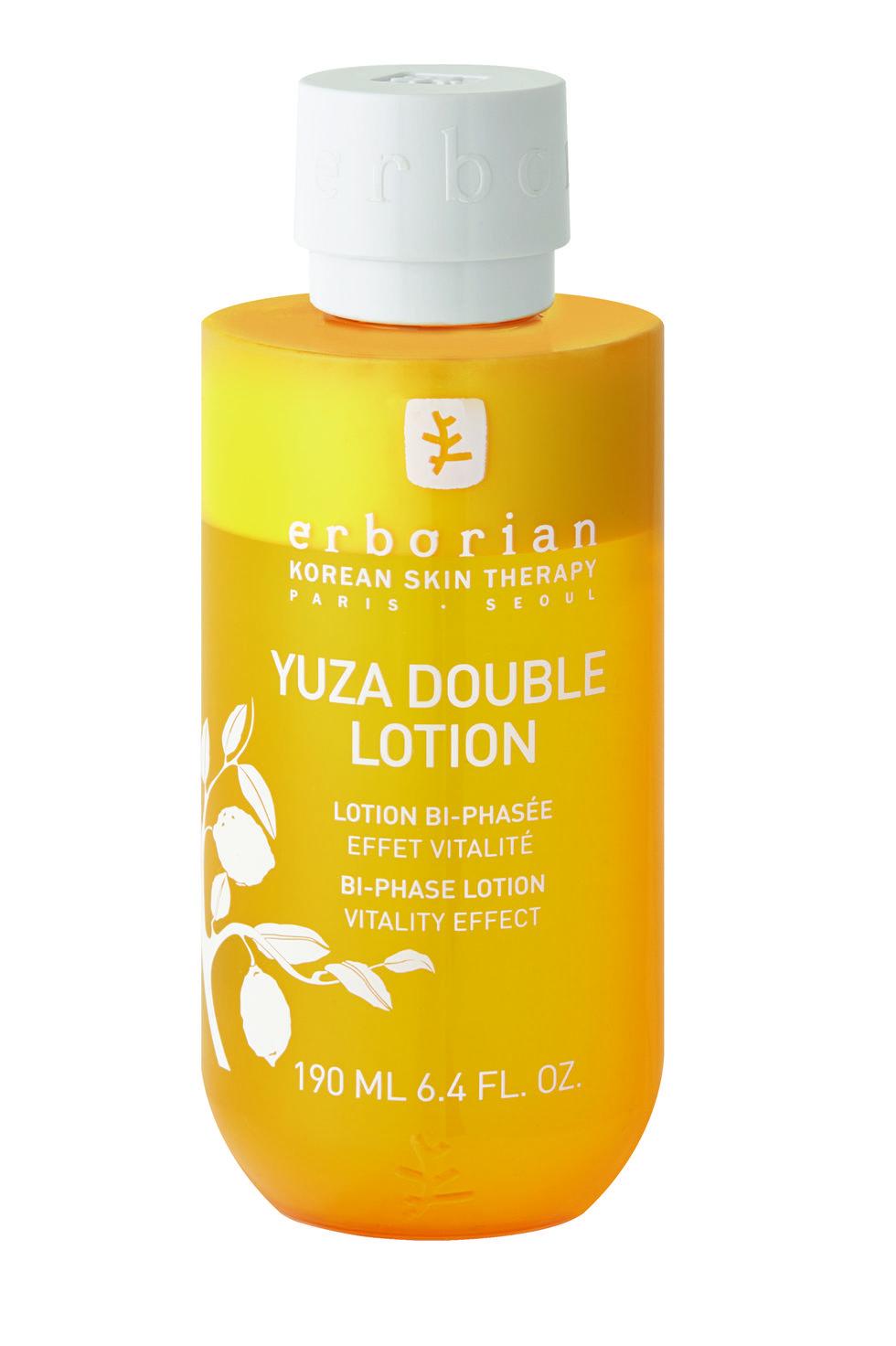 Loción hidratante bifásica Yuza Double Lotion de ERBORIAN