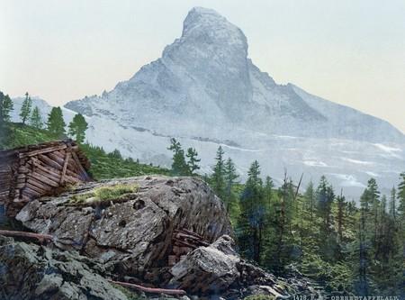 Zermatt Upper Staffelalp With The Matterhorn Valais