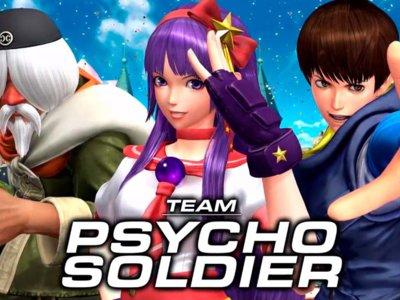 Es turno de ver al equipo Psycho Soldier de The King of Fighters XIV