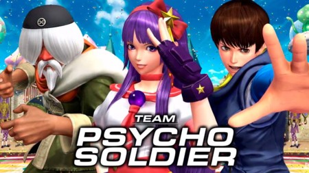 Es turno de ver al equipo Psycho Soldier de The King of Fighters XIV