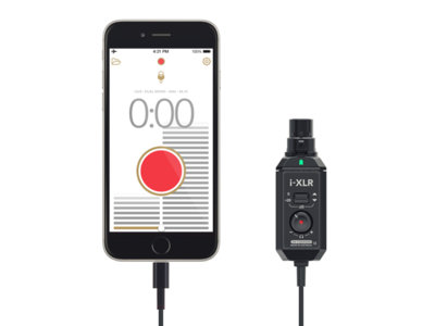 Rode i-XLR, adaptador para micrófonos XLR a Lightning: podrás usar tus micros profesionales con el iPhone o iPad