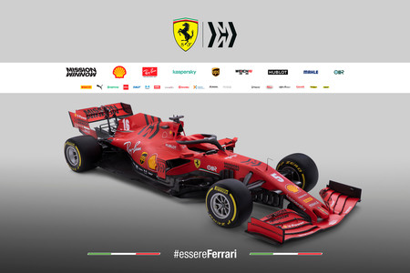 Ferrari presenta el SF1000, su nuevo coche de Fórmula 1 aún más rojo para asaltar el trono de Lewis Hamilton