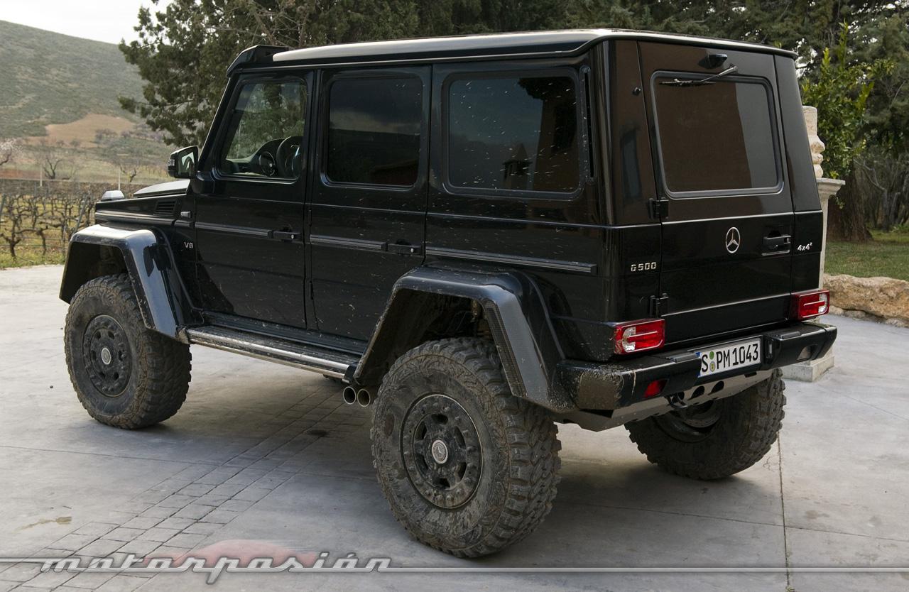 Foto de Mercedes-Benz G 500 4x4², toma de contacto (121/127)