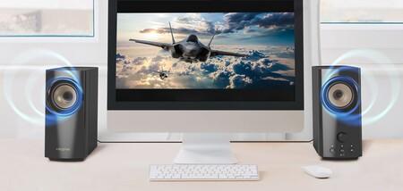 Creative lanza sus nuevos altavoces T60: autoamplificados y con Bluetooth 5.0 para mejorar el sonido de tu PC, móvil o televisor