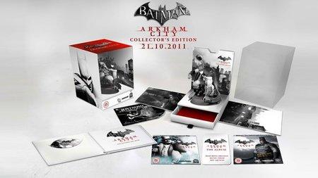 'Batman: Arkham City', desvelada la edición coleccionista