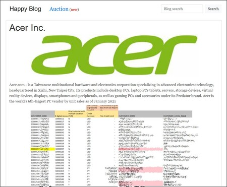 Acer Happy Blog