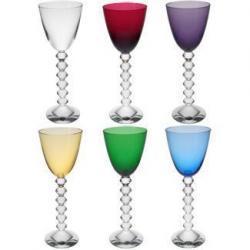 Baccarat alegra tu mesa con su fino cristal en colores