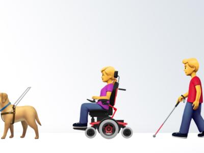 Apple propone un nuevo grupo de emojis de accesibilidad