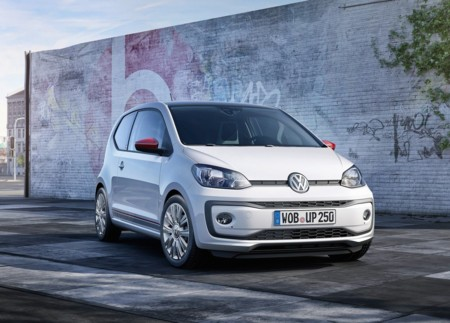 El Volkswagen up! se lava su carita para el Auto Show de Ginebra