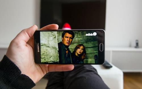 Ver la televisión sin televisor: usando el móvil como TV