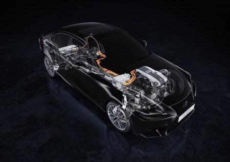Lexus IS 300h Grupo híbrido Lexus Hybrid Drive