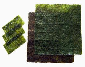 Algas nori, un exquisito ingrediente para mucho más que el sushi