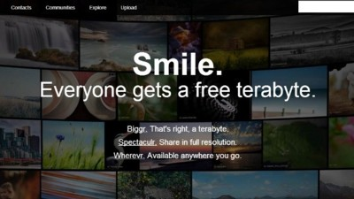 A partir de ahora, Flickr ofrece 1 terabyte de almacenamiento gratuito