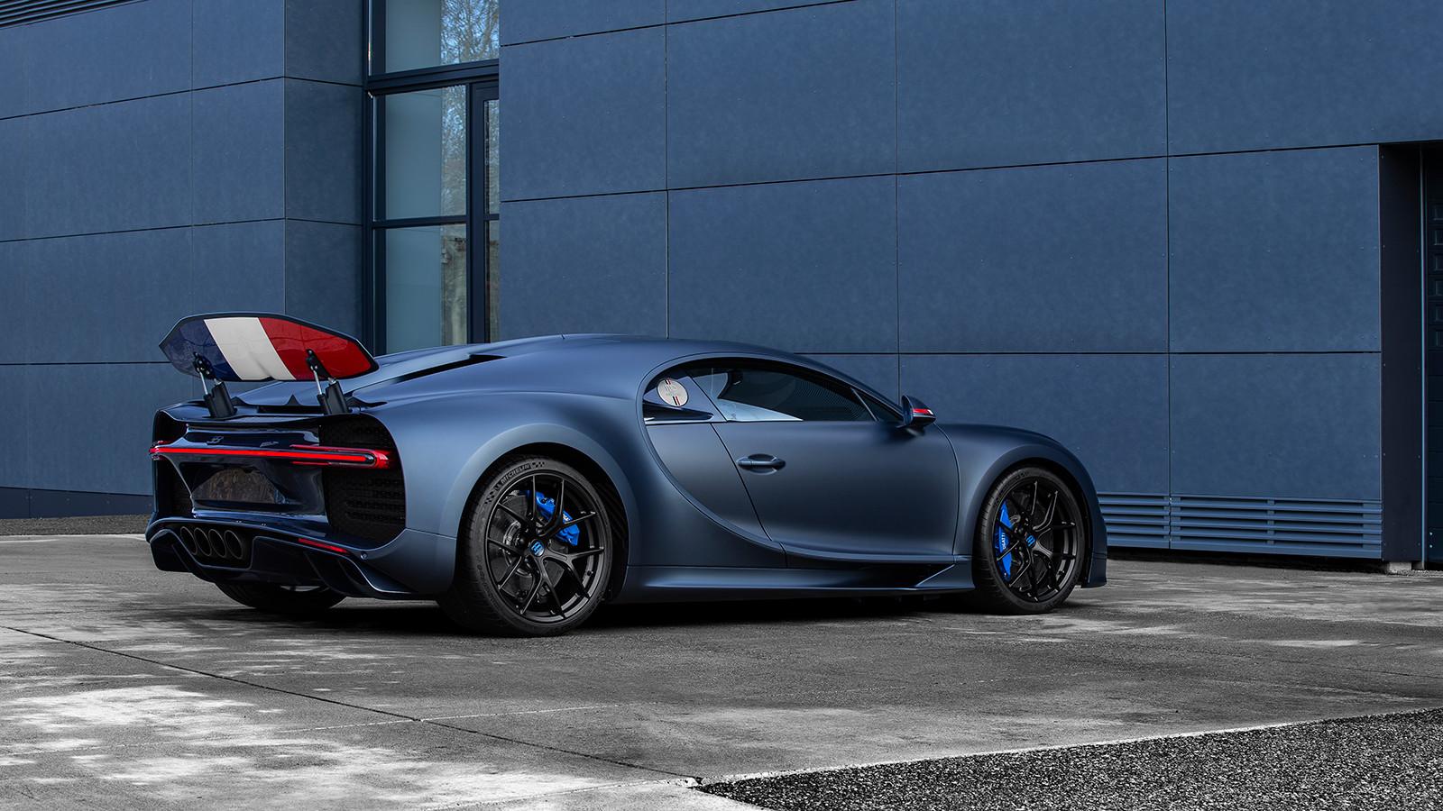 Foto de Bugatti Chiron Sport 110 ans Bugatti (11/12)