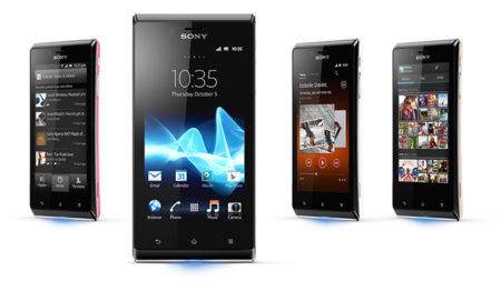 Sony Xperia J software