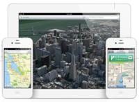 Los mapas de Apple son de TomTom. Flyover y la navegación guiada no son para el iPhone 4